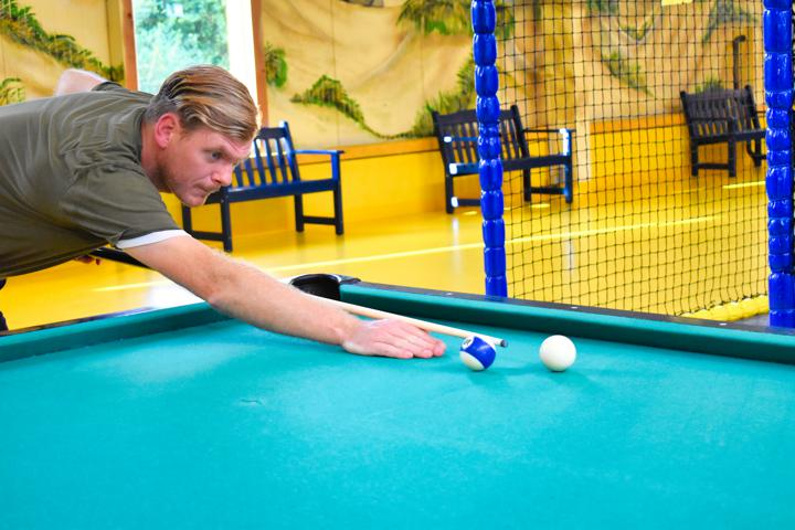 Klabautermann Indoor-Spielpark Attraktionen Billard