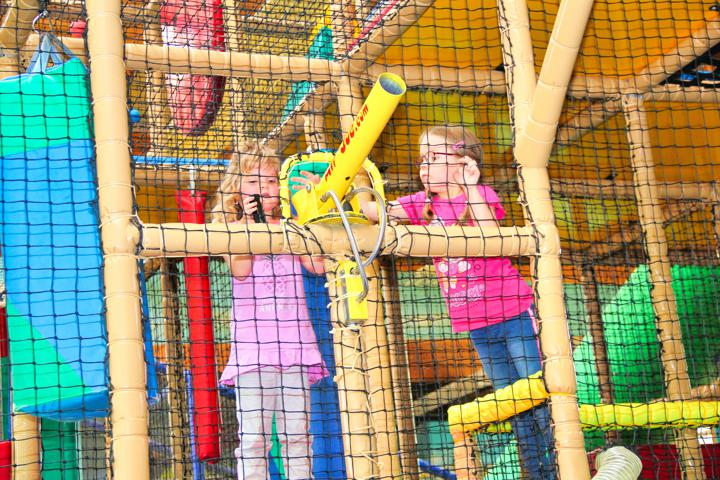 Klabautermann Indoor-Spielpark Attraktionen Piratenschiff